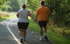 Couple Running Gear Walking