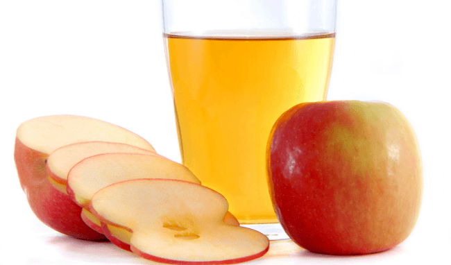 apple cider vinegar how to slim down thighs and hips