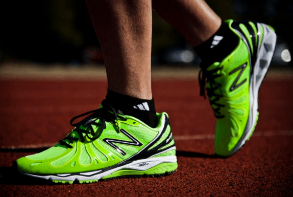 having the right running shoes