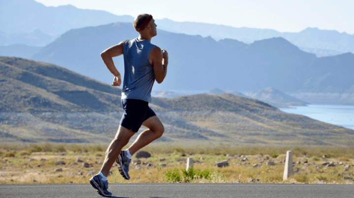 correct breathing while running