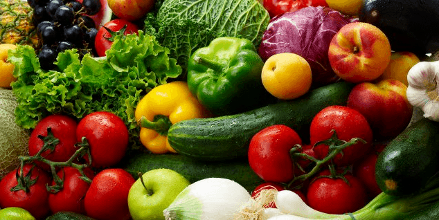 eating more fruits and vegetables