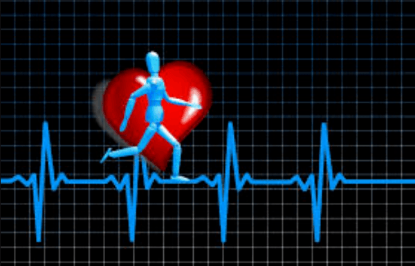 heart rate when running
