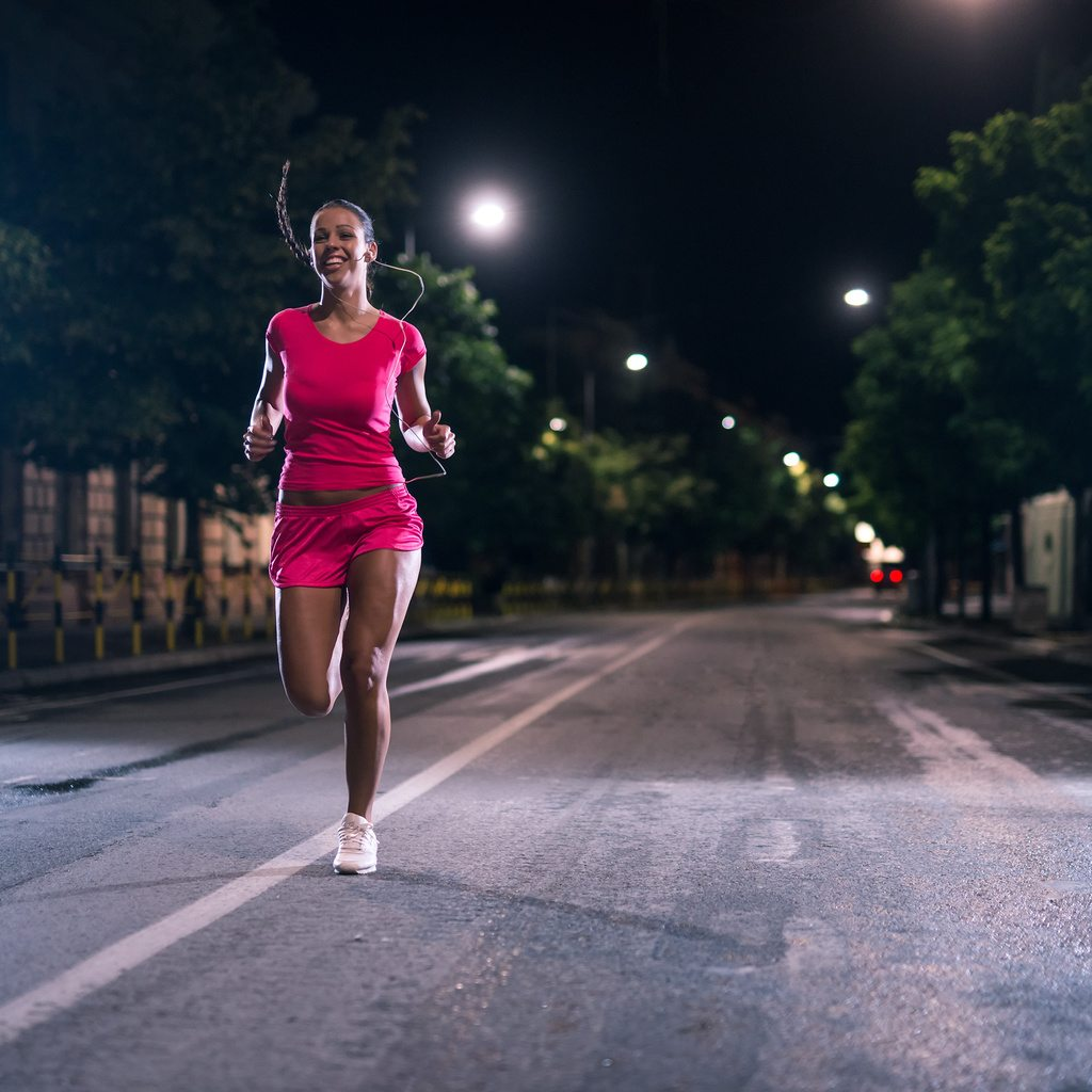 tips for running in the dark morning