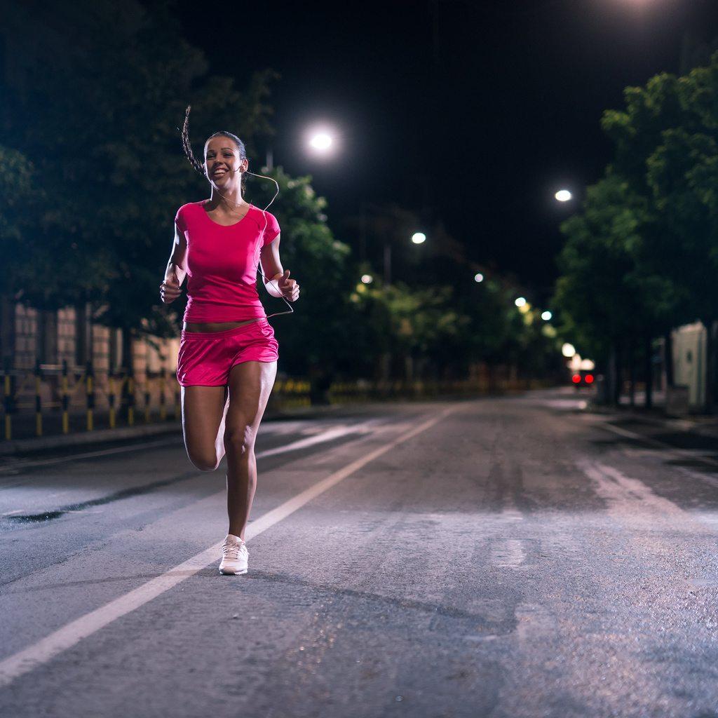 tips for running in the dark morning