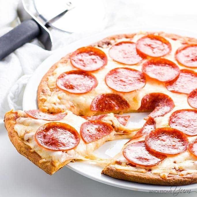 Cheese Crust Pepperoni Pizza